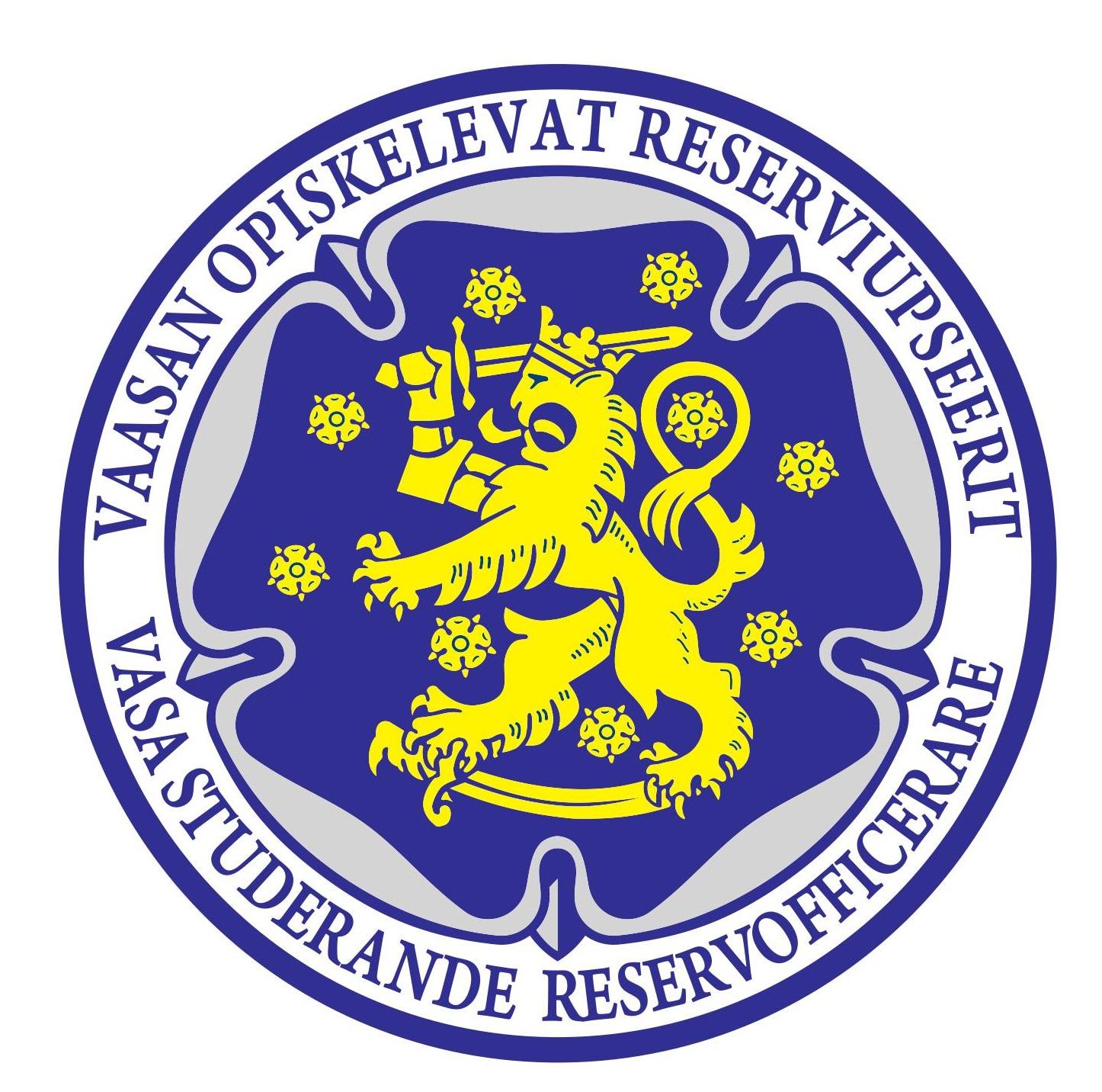 Vaasan Opiskelevien Reserviupseerien logo